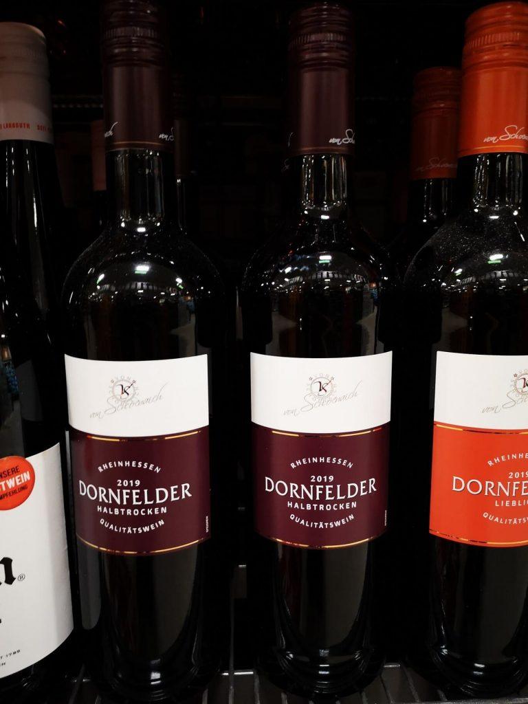 Vino alemán - Dornfelder
